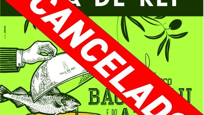 Vila de Rei cancela edição de 2020 do Festival Gastronómico do Bacalhau e do Azeite