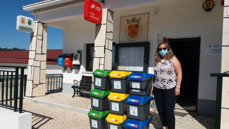 Entrega de equipamentos de recolha seletiva – Concelho de Ferreira do Zêzere