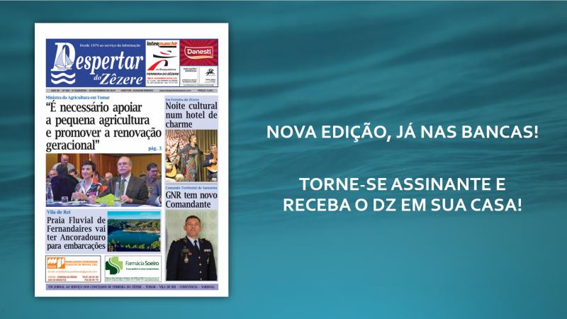 NOVA EDIÇÃO DO DZ JÁ NAS BANCAS!