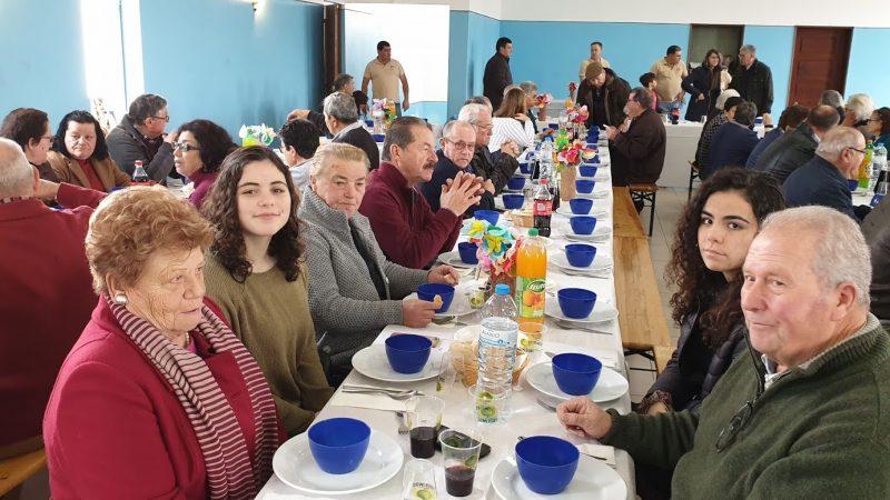 Almoço de Natal de Seniores de Águas Belas