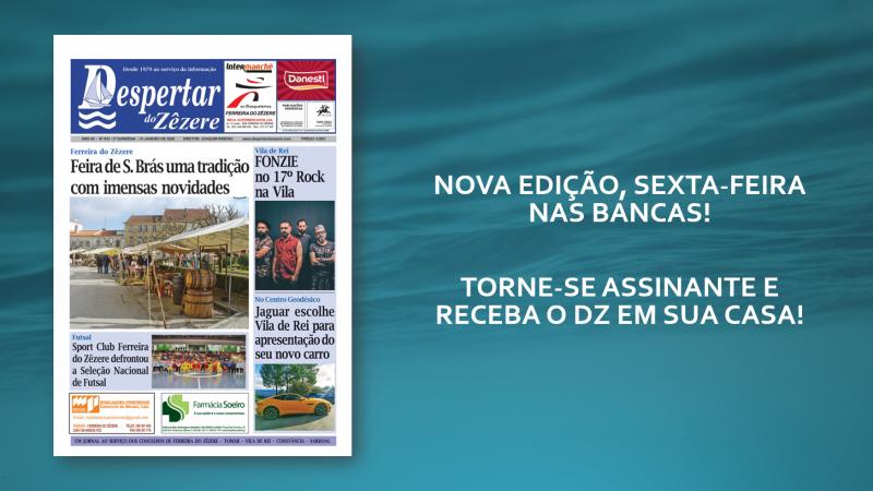 NOVA EDIÇÃO, SEXTA-FEIRA NAS BANCAS!