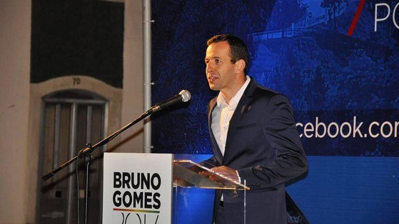 Bruno Gomes anuncia recandidatura à liderança do PS FZZ