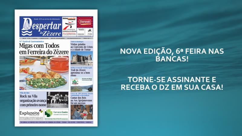 NOVA EDIÇÃO DO DZ, 6ª-FEIRA NAS BANCAS!