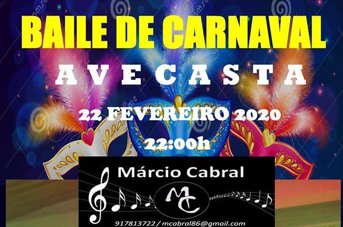 Baile de Carnaval em Avecasta