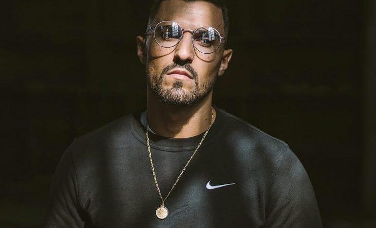 Rapper TrueKey no palco da segunda noite do Rock na Vila
