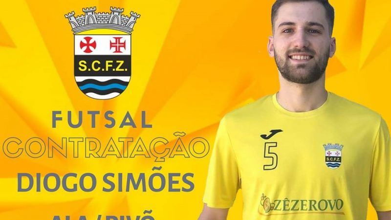 SCFZ – Futsal contrata goleador Diogo Simões