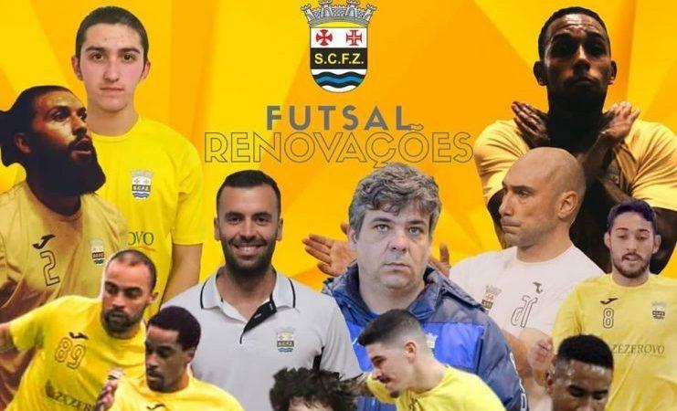 SCFZ – Futsal acerta mais renovações contratuais para a próxima época