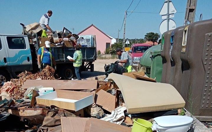 Município de Tomar recolheu mais de 200 toneladas de resíduos