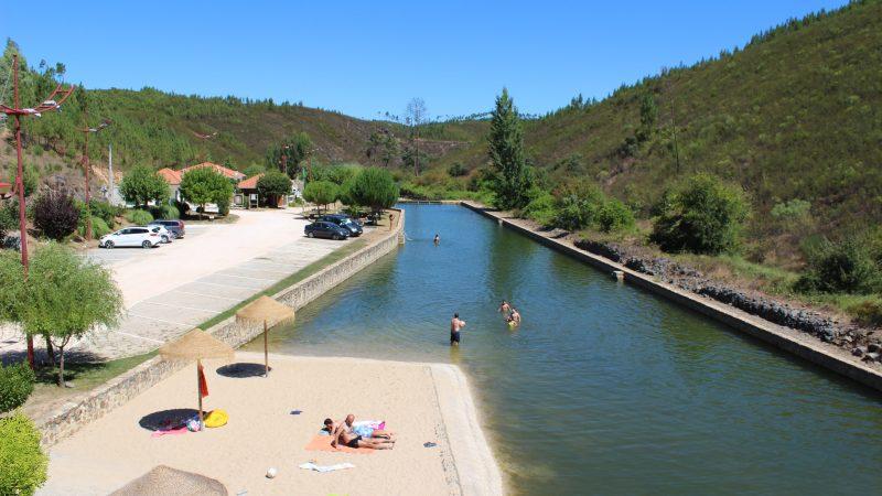 Praia Fluvial do Bostelim reabriu ao público