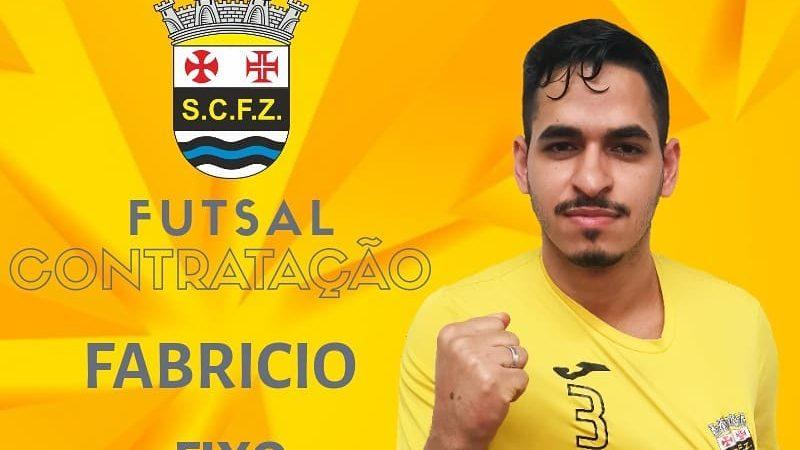 SCFZ – Futsal garante contratação de Fabrício
