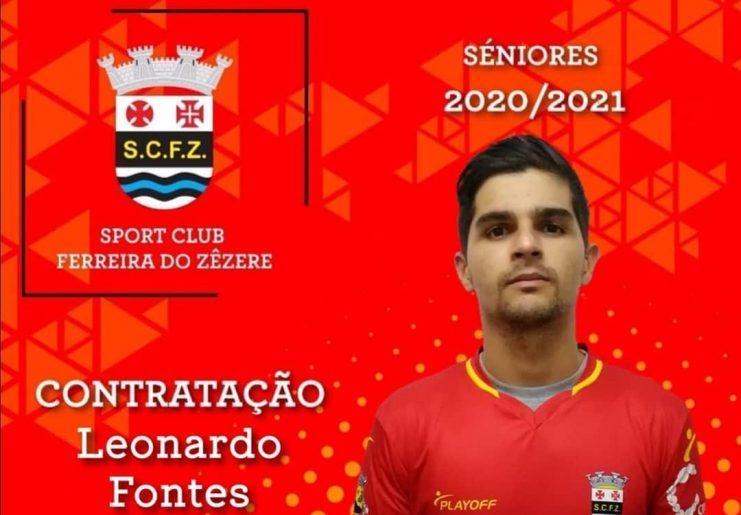 SCFZ contrata Leonardo Fontes