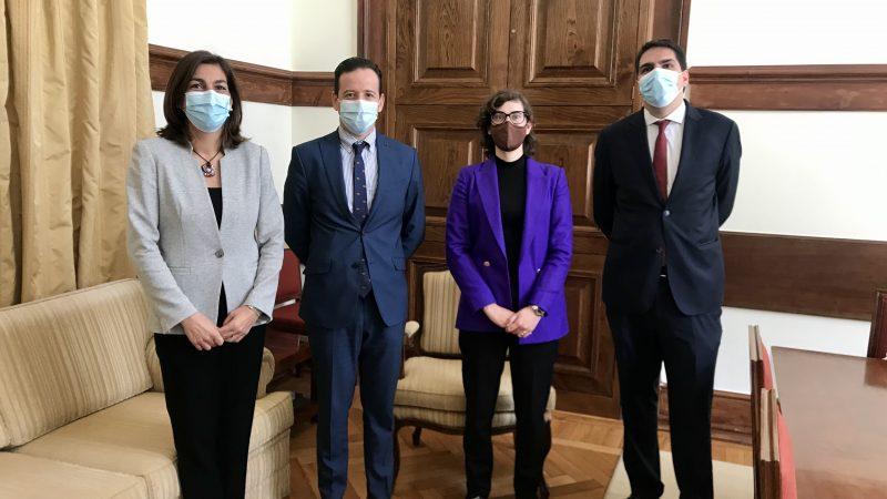 Vereador ferreirense Bruno Gomes reuniu com os Deputados eleitos por Santarém e com Ana Catarina Mendes, Presidente do Grupo Parlamentar do PS