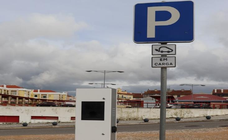 Posto de carregamento de carros elétricos em Ferreira do Zêzere