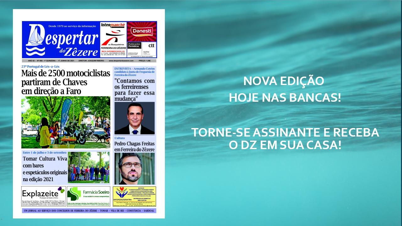 Nova edição do DZ, hoje nas bancas!