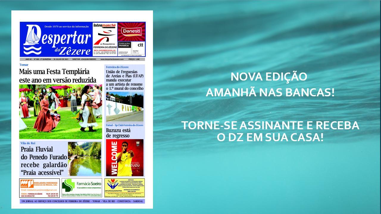 Nova edição do DZ, amanhã nas bancas!